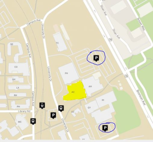 Carleton U AC location and parking.JPG